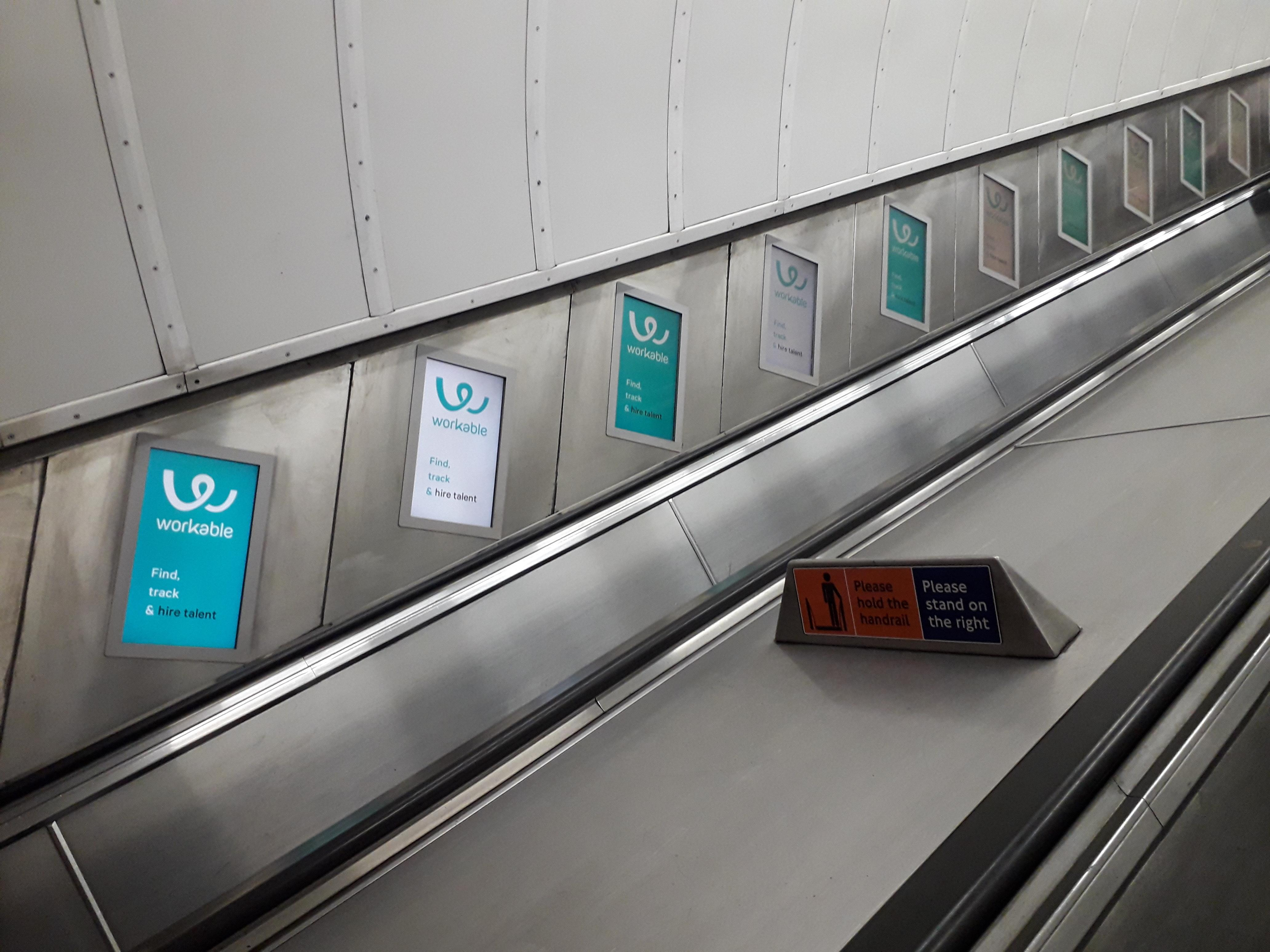 London Tube Advertising